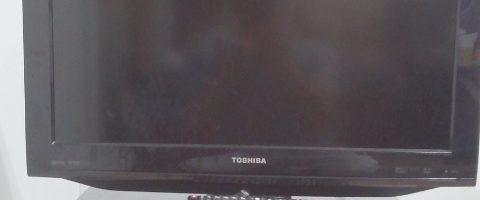東芝製の液晶テレビ(REGZA・26RE1)を無料回収|東京都世田谷区にて家電製品の引き取り