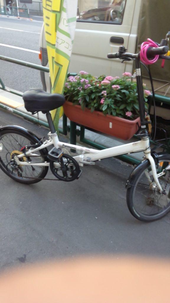 パナソニック製の自転車