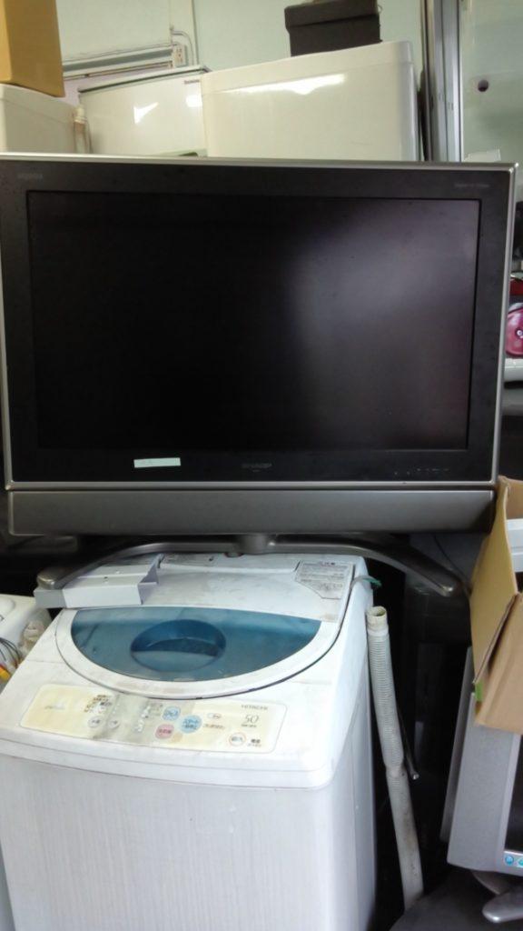 液晶テレビ・洗濯機を回収リユース