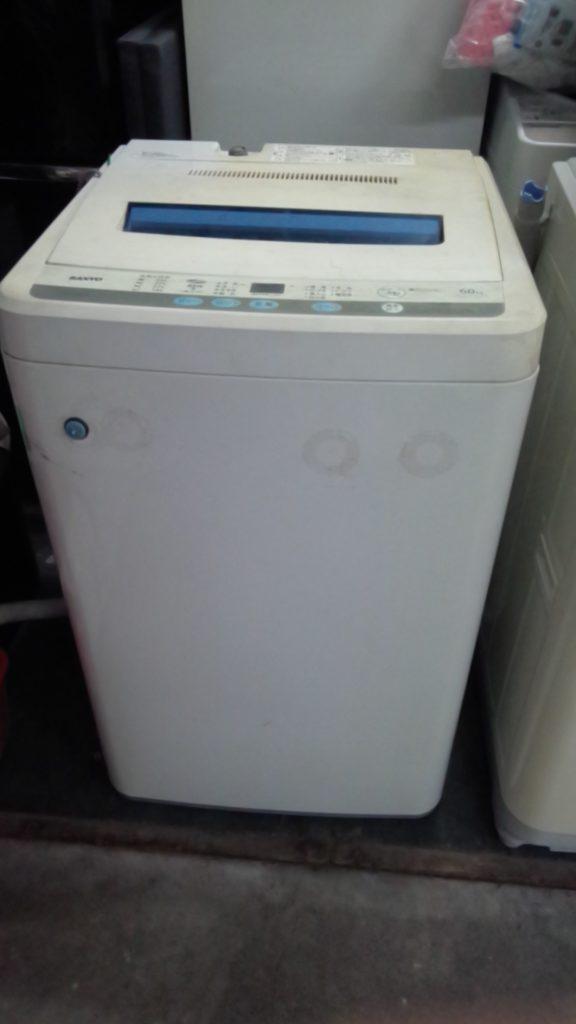 サンヨー製の洗濯機