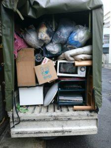 家財一式の不用品回収