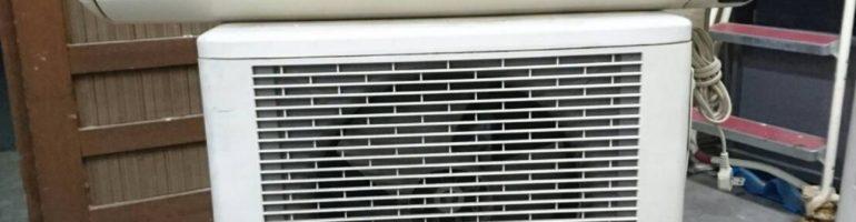 ナショナル製のルームエアコン(CS-G25V-W)などの不用品を無料で廃品回収|東京都江戸川区にて家電の引き取り