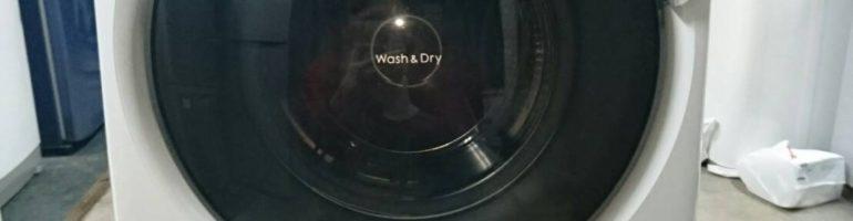 パナソニック製のドラム式洗濯乾燥機(NA-VD100L)を無料で廃品回収|東京都墨田区にて家電の引き取り