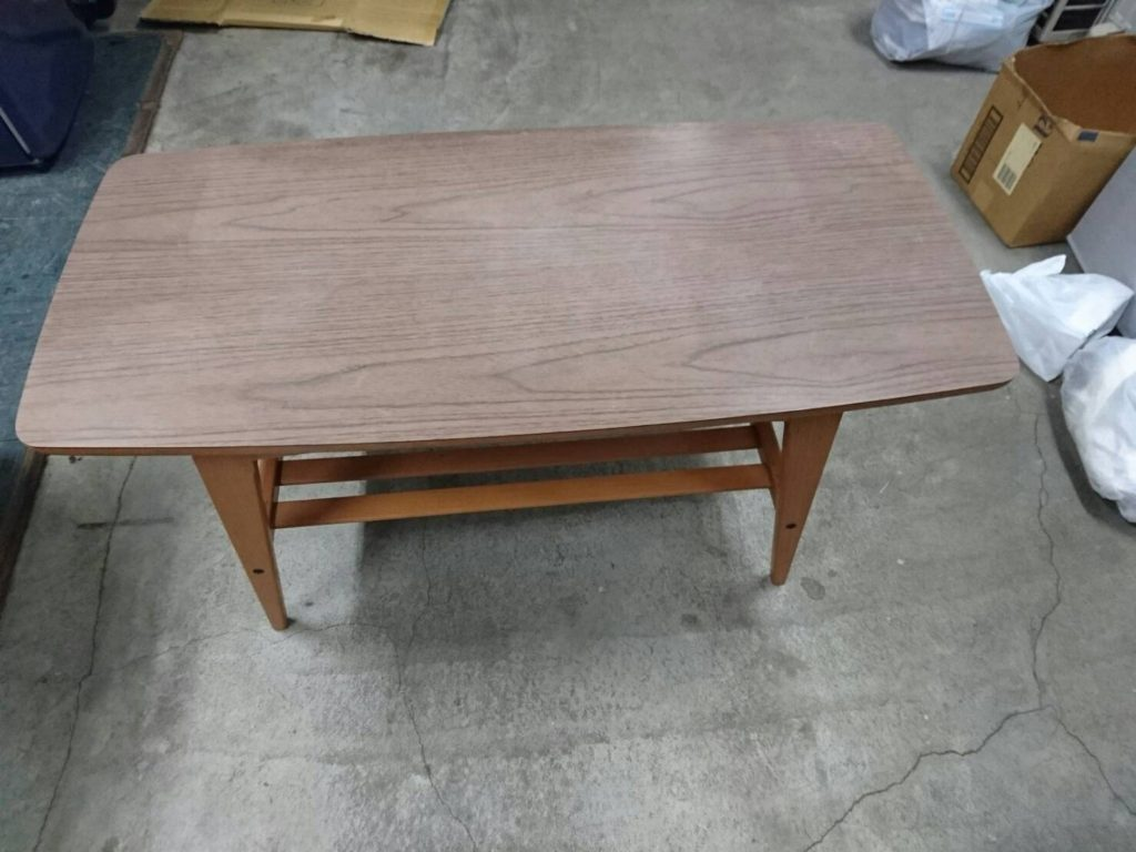 テーブルの平面