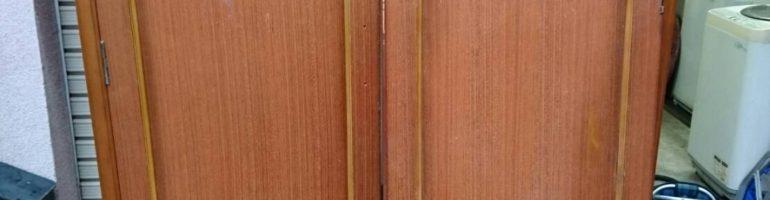 引っ越しで不用になった木製クローゼットやテーブルなど格安で廃棄処分|東京都板橋区にて家具の引き取り