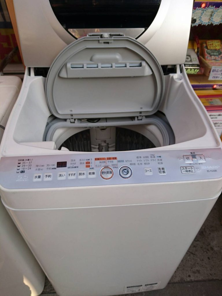 洗濯機の機能