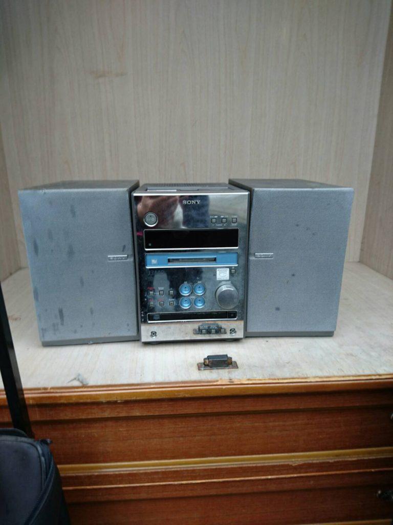 ソニー製のオーディオ機器