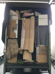 単身引っ越しの荷物