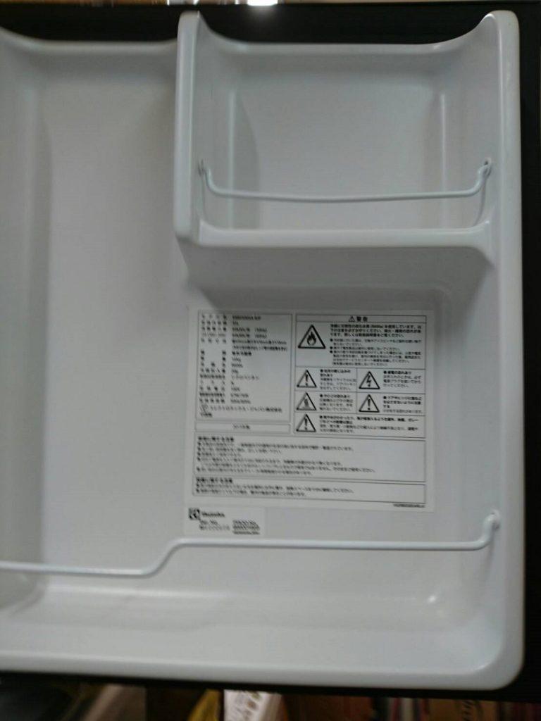 冷蔵庫の室内(扉側)