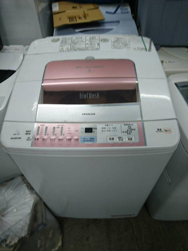 日立製の全自動洗濯機(BW‑7LV)