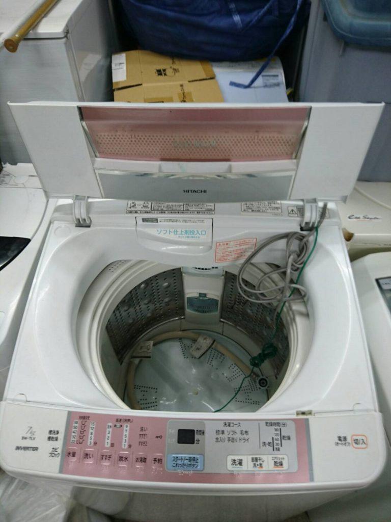 洗濯機の容量