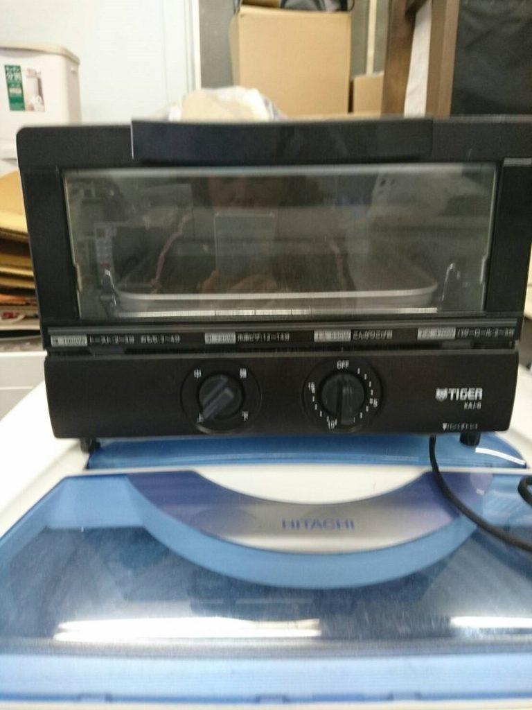 タイガー製の電子オーブントースター(KAJ-G100)