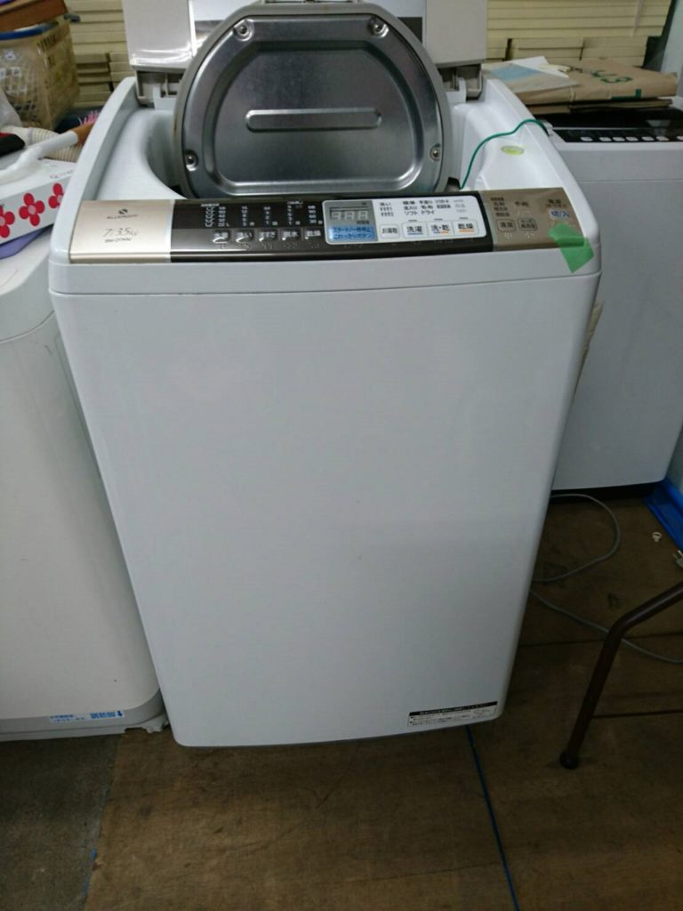日立製の洗濯機(BW-D7MV)