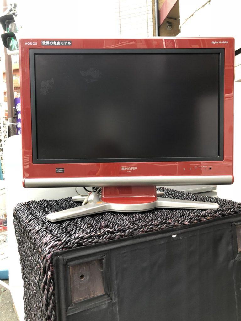 シャープ製の液晶テレビ「AQUOS」