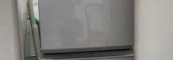 シャープ製の2ドア冷蔵庫(SJ-14M-S)を廃品回収|神奈川県川崎市高津区にて家電品の回収処分