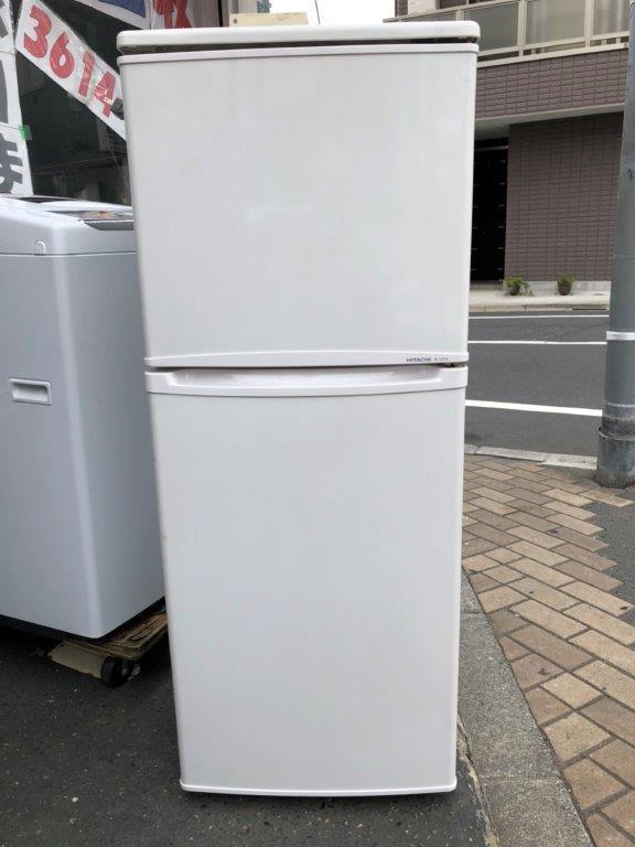日立製の2ドア冷蔵庫(R-12TA)