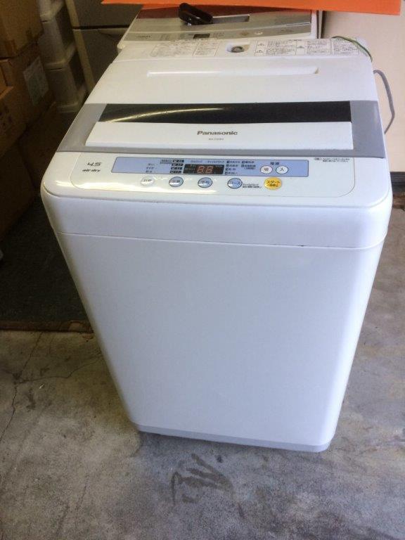 パナソニック製の洗濯機(NA-F45B3)