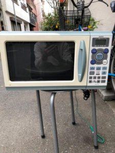 サンヨー製の電子レンジ