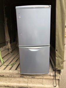 ナショナル製の2ドア冷蔵庫