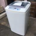 東京都豊島区にてハイアール製の洗濯機など家電品の出張回収・処分