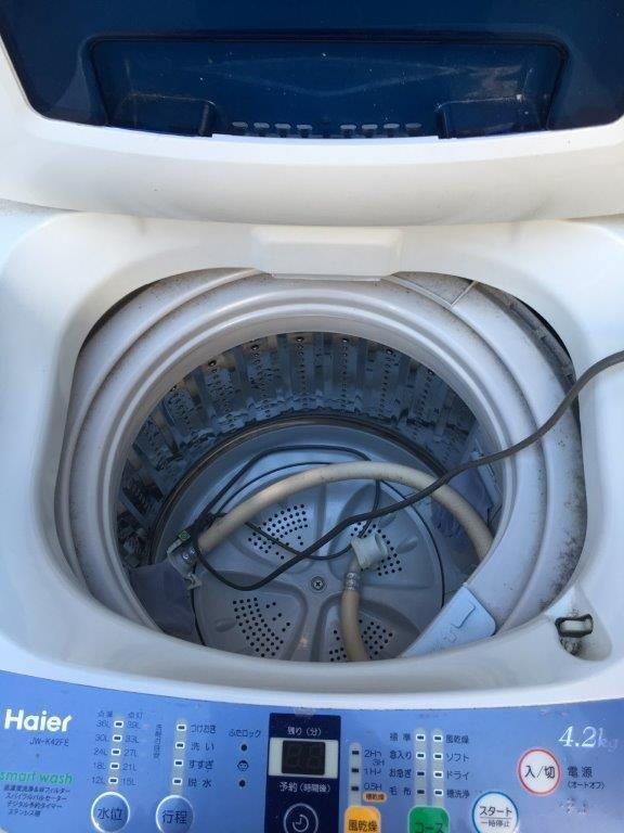 洗濯機のステンレス槽