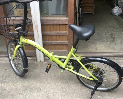 シルクハットの自転車