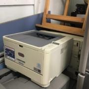 沖データのモノクロLEDプリンター