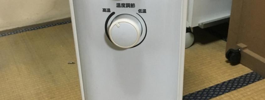 アイリスオーヤマのファンヒーター