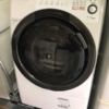 シャープ製のドラム式洗濯機