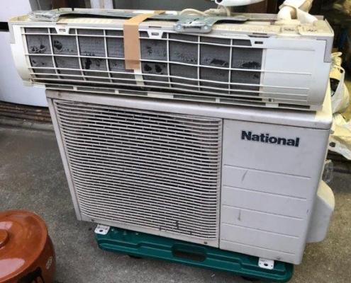 ナショナル製の家庭用エアコン
