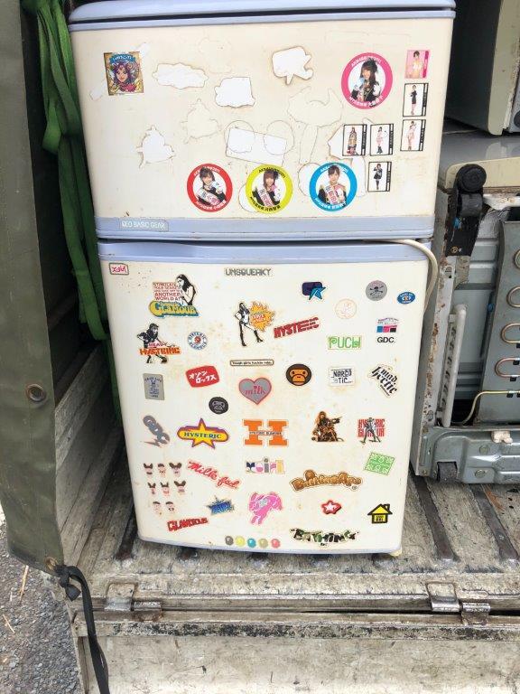 モリタ製の冷蔵庫
