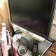 故障した液晶テレビ