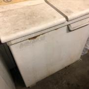 壊れた洗濯機