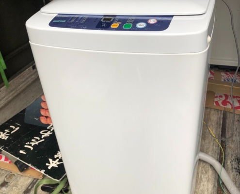 ハイアール製の洗濯機