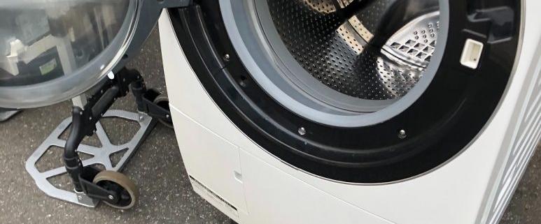 日立製のドラム式洗濯機