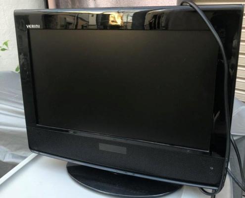 ベリーニ製の液晶テレビ