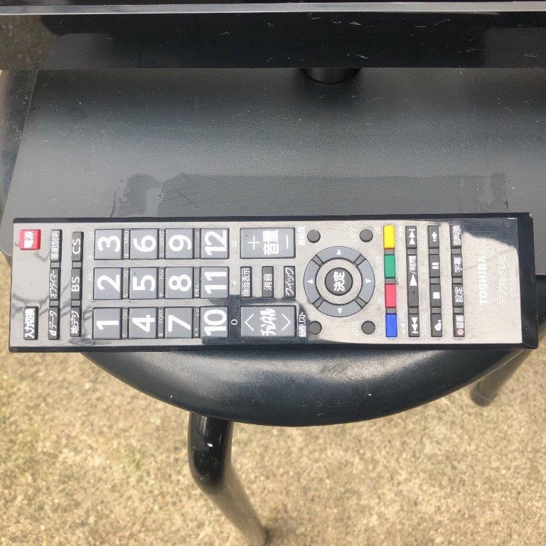 液晶テレビのリモコン・スタンド