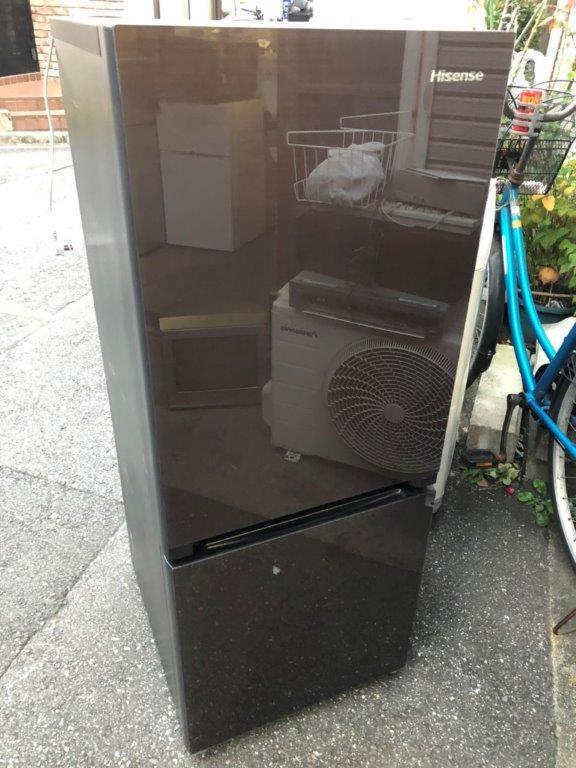 ハイセンス製の冷蔵庫