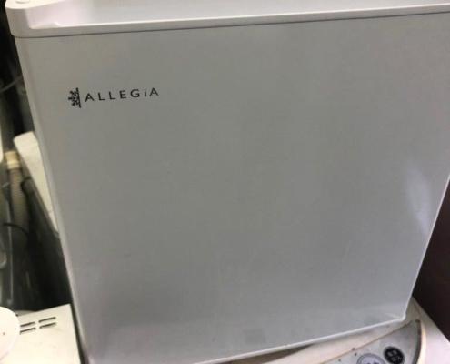 アレジア製の冷蔵庫