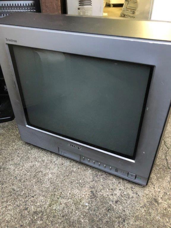 ソニー製のブラウン管テレビ