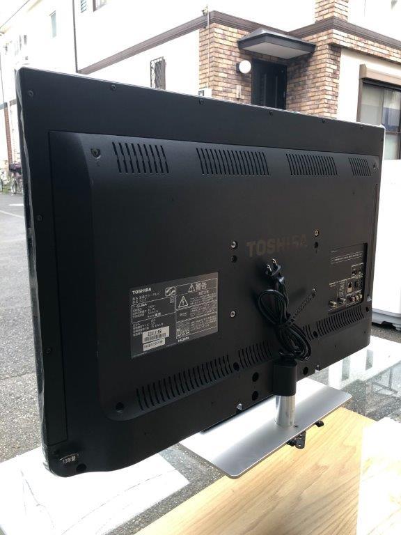 液晶テレビの裏側