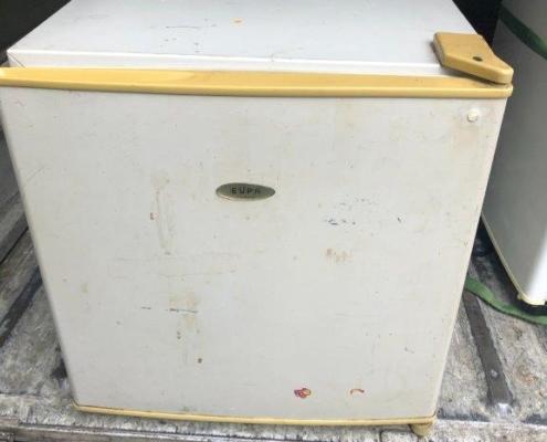 ユーパ製の冷蔵庫