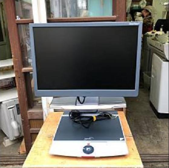 Optelec(オプテレック)の卓上型拡大読書器