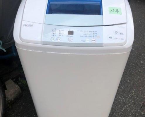 洗濯機(ハイアール)