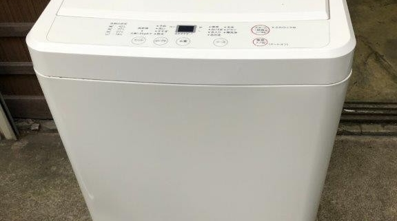 洗濯機(無印良品)
